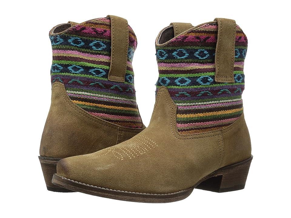 Roper Becky Bright (Light Beige) Cowboy Boots