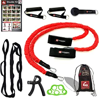 ArmCare2Go Baseball Bands for Pitching- 7 Piece Resistance Training Kit for Baseball Softball Training