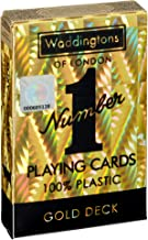 Classic Gold Waddingtons Number 1 Playing Cards Gold Playing Cards