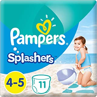 Pampers Splashers Pants, Size 4-5, 11 Count