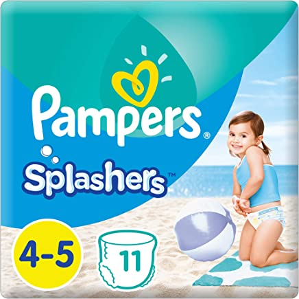 Pampers Splashers Swimming Pants, Size 4-5, 9-15 kg, Carry Pack, 11 Count
