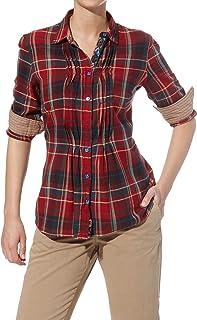 blusa de mujer de cuadros gindi #rif115