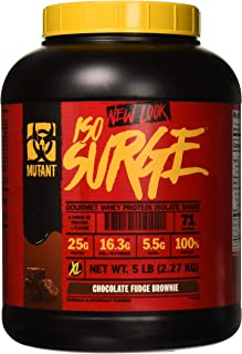 Mutant ISO Surge Whey Protein Powder Acts FAST to Help Recover, Build Muscle, Bulk and Strength, Uses Only High Quality In...