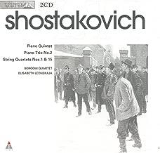 Shostakovich: Piano Quintet / Piano Trio No. 2 / String Quartets Nos. 1 & 15 (Ultima)