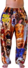 BRIEF INSANITY Comfy Lounge Pajama Pants - Super Soft Silky Pant Bottoms for Women and Men