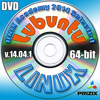 Lubuntu 14.04.1 Linux DVD 64-bit Full Installation Includes Complimentary UNIX Academy Evaluation Exam