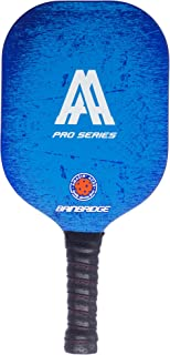 Amazin' Aces 'Bainbridge' Pickleball Paddle (Pro Series) | Edgeless Composite Paddle | Aluminum Honeycomb Core with Graphite & Fiberglass Rimless Face | Includes Racket Cover with Shoulder Strap