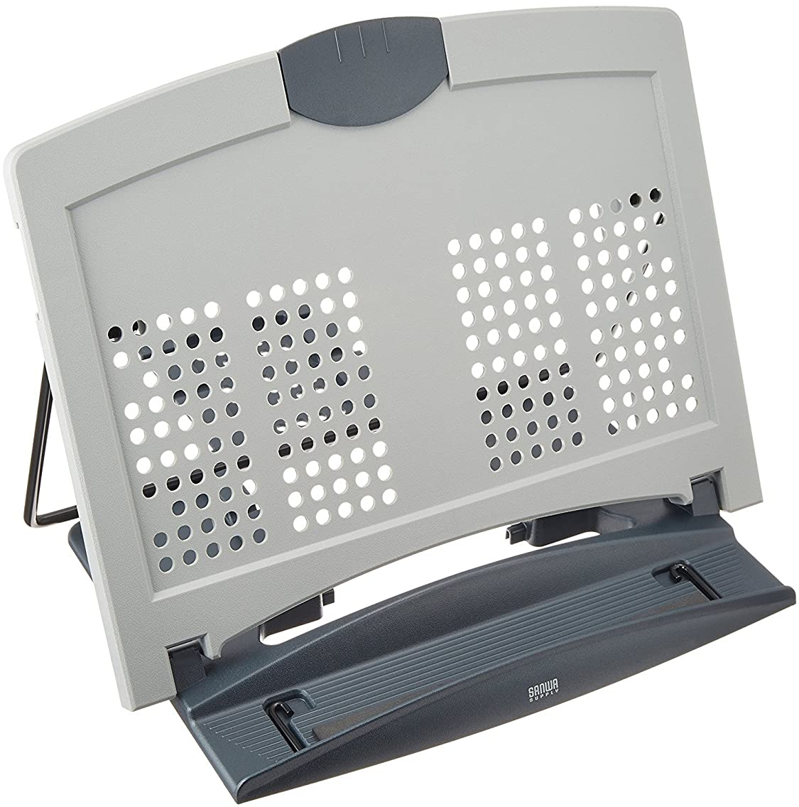 圧倒的水星知覚的サンワサプライ ノートパソコン スタンド マルチデータホルダー ノートパソコン放熱用通気孔付き DH-316