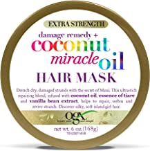 OGX Extra Strength Damage Remedy + Coconut Miracle Oil Hair Mask, 6 Ounce