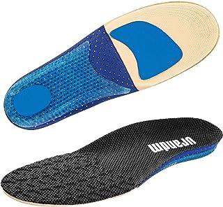 Qpai インソール 衝撃吸収 中敷き 扁平足 足底筋膜炎 スポーツ 靴 足の疲れない アーチフィット 土踏まず 汗吸収 通気&足 サイズ調整可能 男性用 女性用 消臭 抗菌
