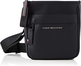 Tommy Hilfiger Elevated PU Mini Crossover, Bolsas. para Hombre
