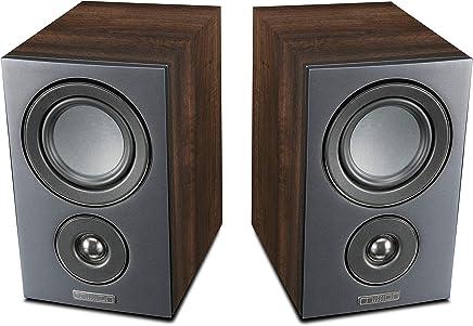 Mission LX-1 Bookshelf Speakers (Walnut)