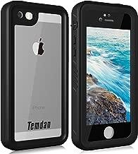 Temdan iPhone SE/5S/5 Waterproof Case Built in Screen Protector Shockproof Waterproof Case for iPhone SE/5S/5(4inch)
