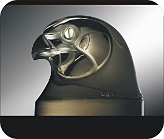 René Jules Lalique Mascot Hood Ornament FALCON HEAD picture on Mouse Pad