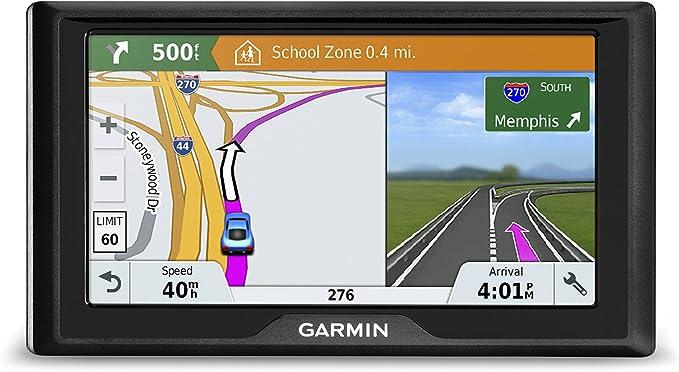 Garmin Drive 51 Usa Lmt S Gps Navigationssystem Mit Lebenslangen Karten Live Verkehrs Und Live Parken Fahrerwarnungen Direkten Zugriff Tripadvisor Und Foursquare Daten Elektronik