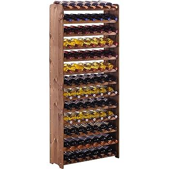 """Scaffalatura """"OptiPlus"""" in legno di pino, colore: marrone, Modell 5"""