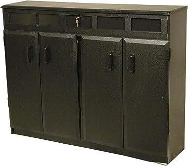 Venture Horizon Top Load Media Cabinet - Black