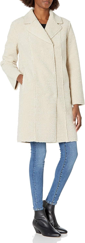 Velvet by Graham Spencer Women's Coat Faux 55% OFF Sherpa Meryl 2021new shipping free