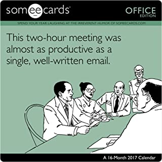 Someecards - Office Wall Calendar (2017)