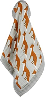 Milkbarn Mini Lovey Blanket (Orange Fox)