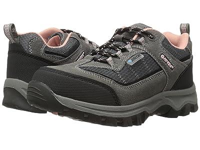 Hi-Tec Kids Hillside Low WP (Toddler/Little Kid/Big Kid) (Charcoal/Blush) Kids Shoes