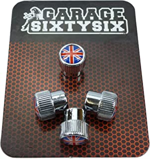 Garage SixtySix 4 Ventilkappen Modell Chicago Motiv: UK
