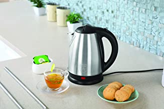 Clearline Appliances All Purpose SS Kettle with Auto-Shut-Off Feature (1.8 LTR) - INOX