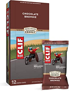 CLIF BARS - Energy Bars - Chocolate Brownie Made with Organic Oats - Plant Based Food - Vegetarian - Kosher (2.4 Ounce Pro...