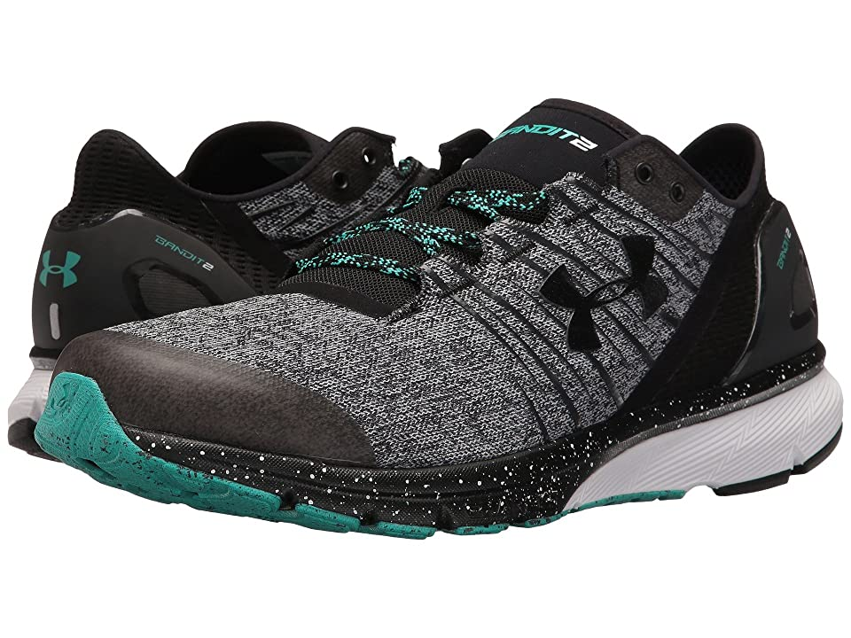 Under Armour UA Charged Bandit 2 (Overcast Gray/White/Black) Men