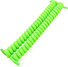 Curly Twister Elastic No-Tie Shoelaces - Solid Colors/One Size Fits Most