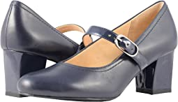 Navy Smooth Leather/Patent