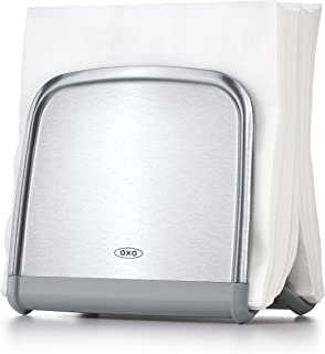 OXO Good Grips Neat Napkin Holder, Stainless Steel
