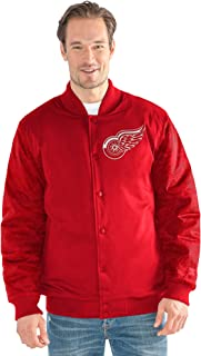 detroit red wings bomber jacket
