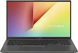 "ASUS VivoBook 15 Thin and Light Laptop, 15.6"" FHD, Intel Core i3-8145U CPU, 8GB RAM, 128GB SSD, Windows 10 in S Mode, F512..."