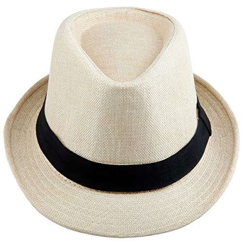 Samtree Fedora Hats for Women Men 95e020db86f3
