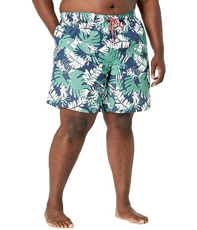 Nautica Big & Tall Big Tall Sustainably Crafted 8 Tropical Print Swim Shorts
