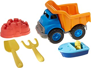 Green Toys Dump Truck with Sport Boat & Sand Toys