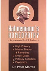 Hahnemann's Homoeopathy (Recommended for PG Students): 1 Paperback