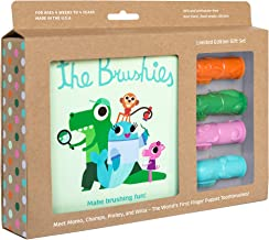 finger puppet toothbrush set