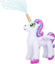 JOYIN Inflatable Unicorn Yard Sprinkler, Alicorn/ Pegasus Lawn Sprinkler for Kids (4 Feet)