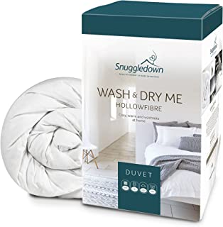 Snuggledown Wash and Dry Me 镂空纤维羽绒被 白色 Super King 1086SNG06