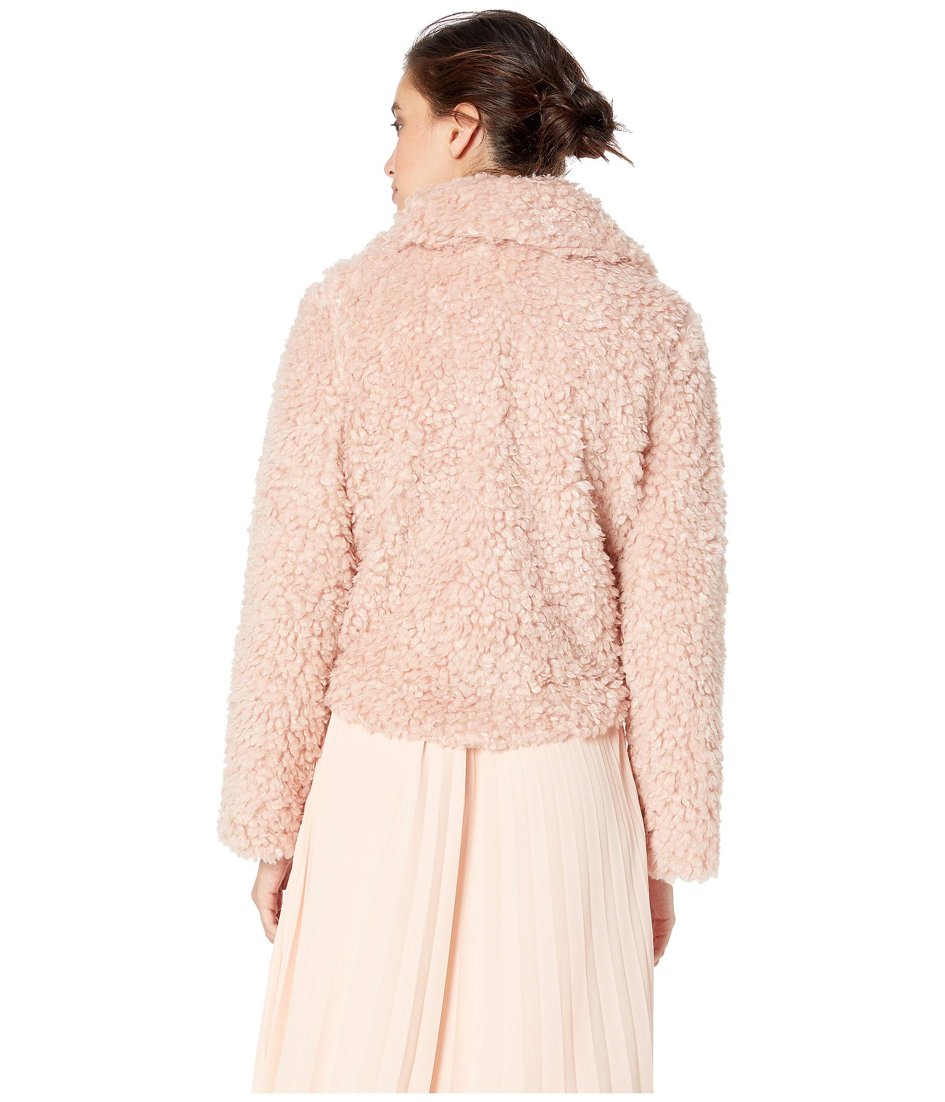 Jacket Cropped Faux Blush Young Fur Bishop fxFICPw4qq