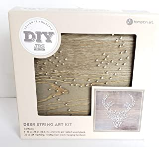 Jilllibean Soup Hampton Art Deer String Art Kit DIY JBS Design Yarn Crafts