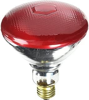 Westinghouse Lighting 0441000, 100 Watt, 120 Volt Incandescent BR38 Light Bulb-2000 Hours, 1 Pack, Red