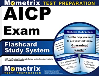 AICP Exam Flashcard Study System: AICP Test Practice Questions & Review for the American Institute of Certified Planners Exam (Cards)