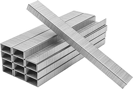 5*1000Pcs//box Metal Silver Thick Layer Rust-proof Powerful Staple Stationery26//6