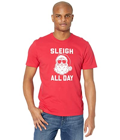 Life is Good Sleigh All Day Crushertm Tee (Positive Red) Men