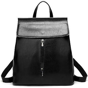 ELOMBR Women Backpack Purse Casual Shoulder Bag Ladies Rucksack