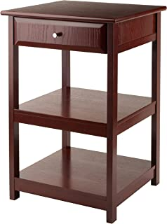winsome wood delta printer table walnut