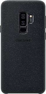 Samsung Galaxy S9+ Alcantara Case, Black (Renewed)